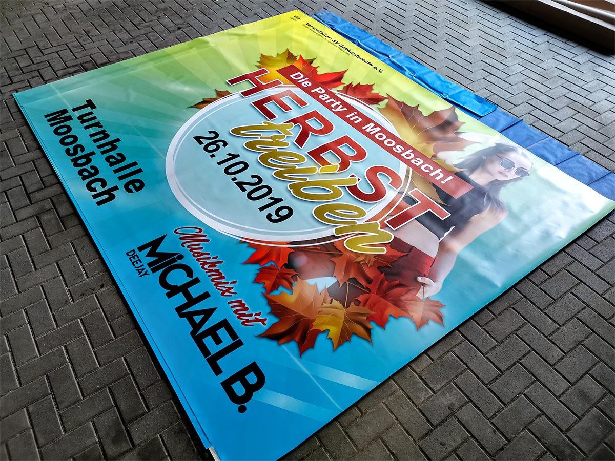 Banner Großformat